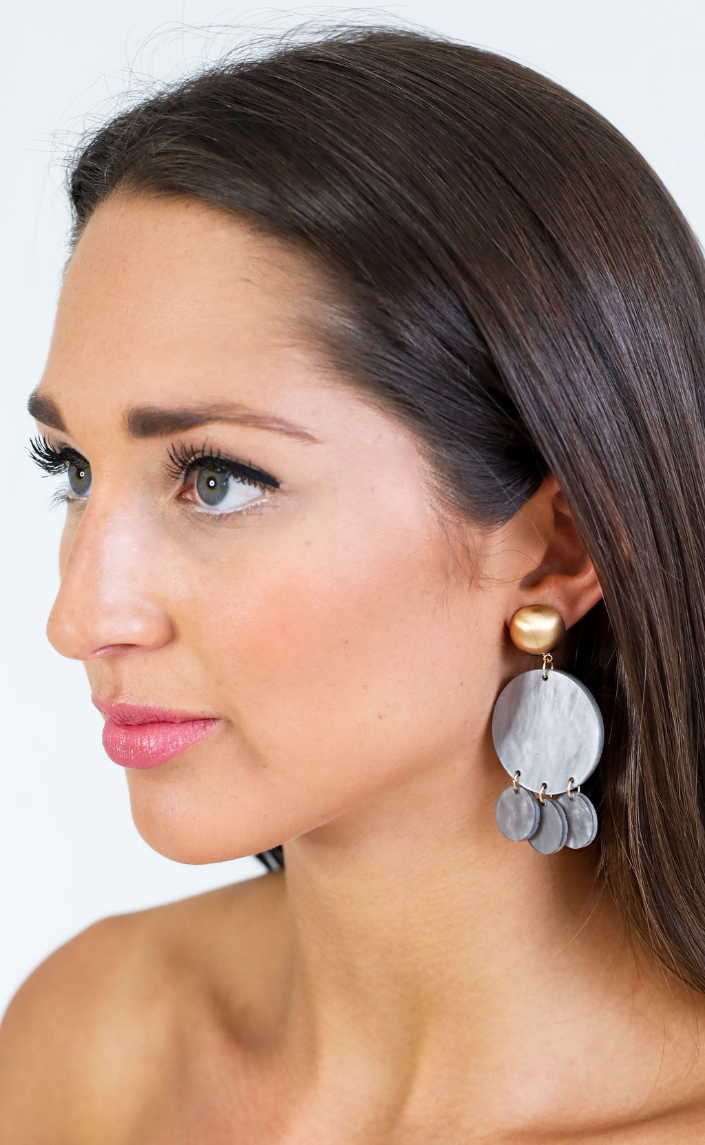 stone cold statement earring