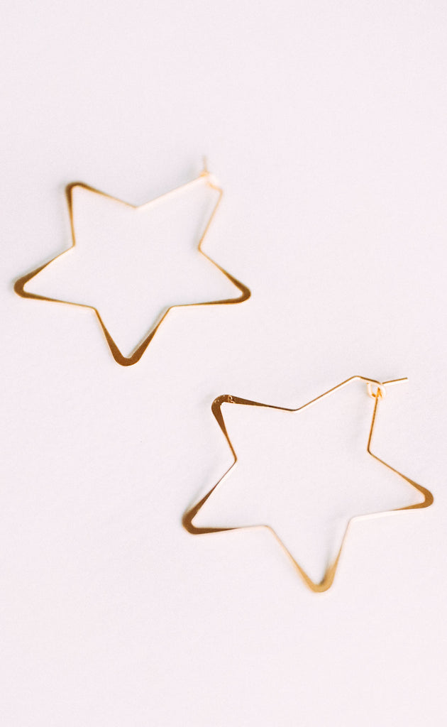 wire star hoops