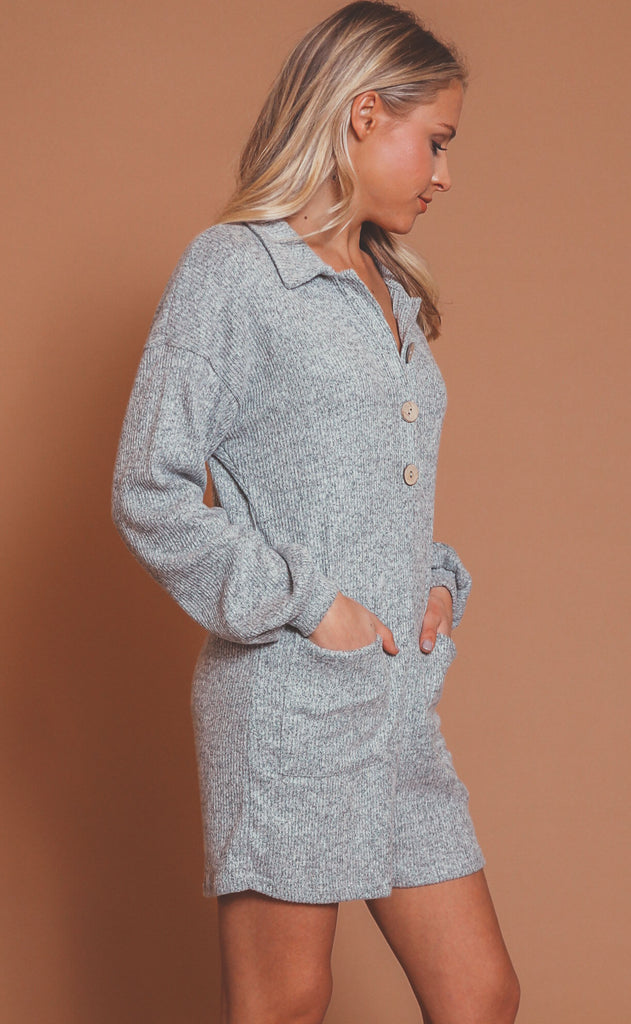 on the run sweater romper