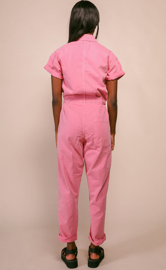 pistola: grover field suit - flamingo
