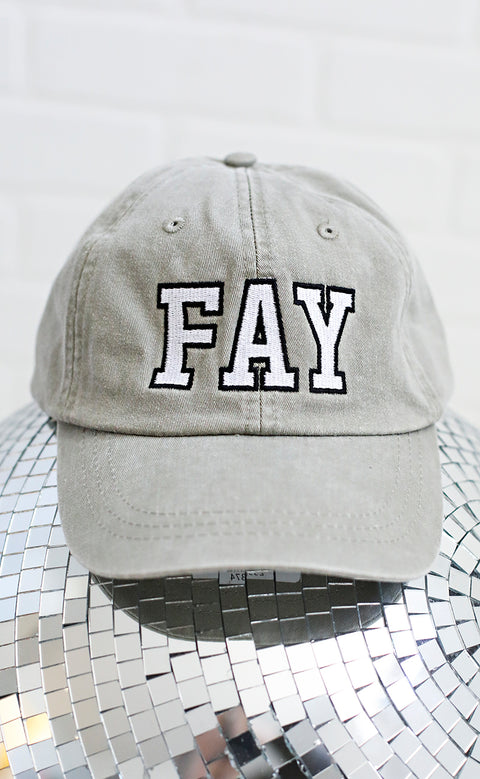 charlie southern: fay outline hat - green
