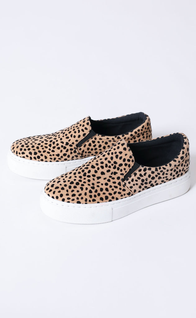 kick it sneaker - leopard