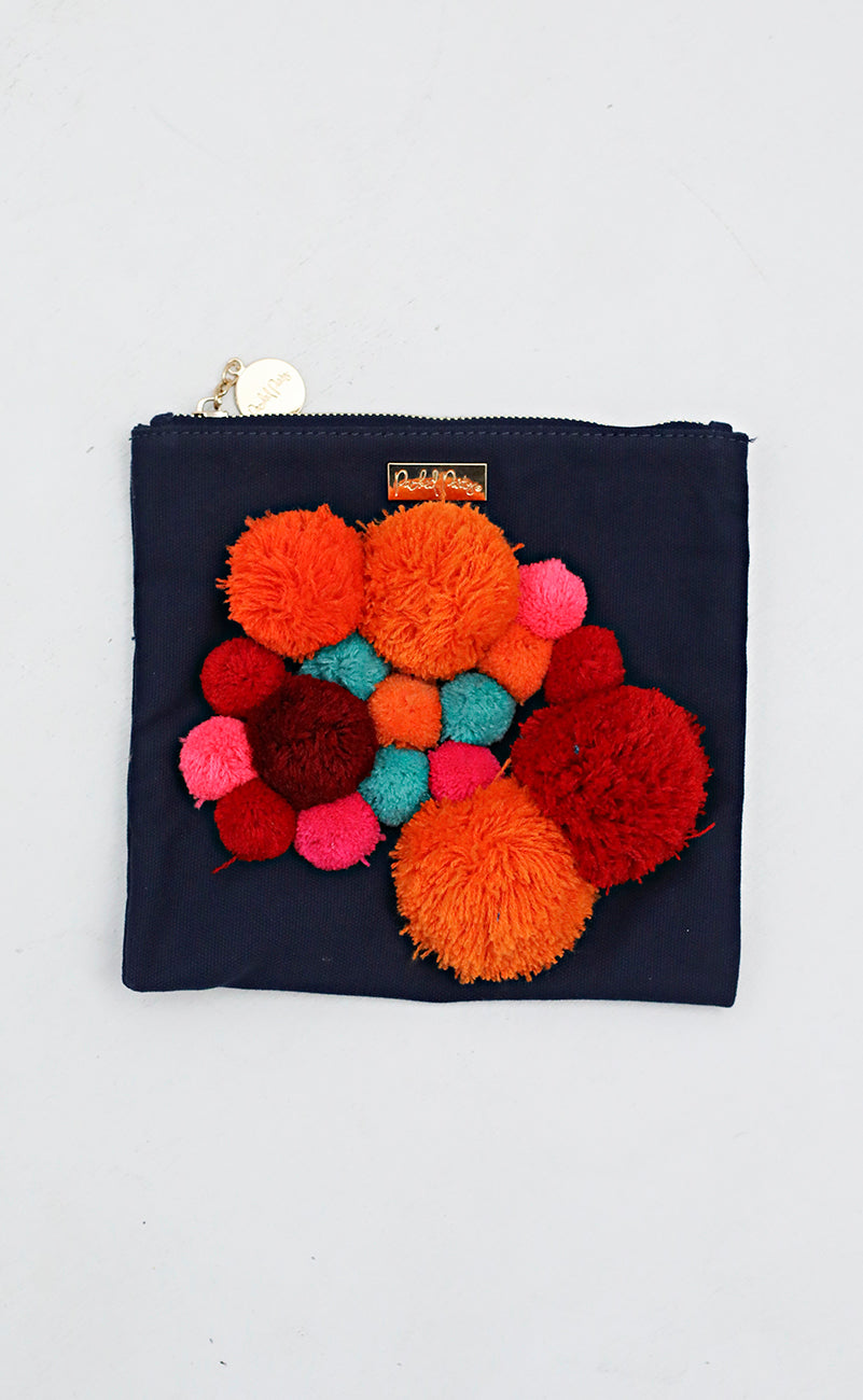 packed party: zip pouch - navy