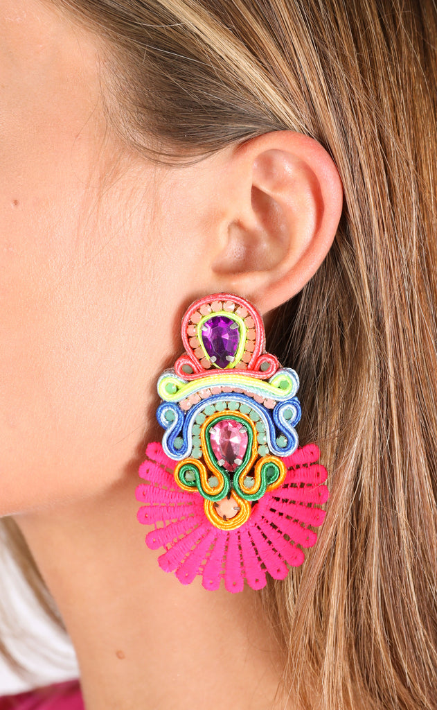 sammy earrings - multi