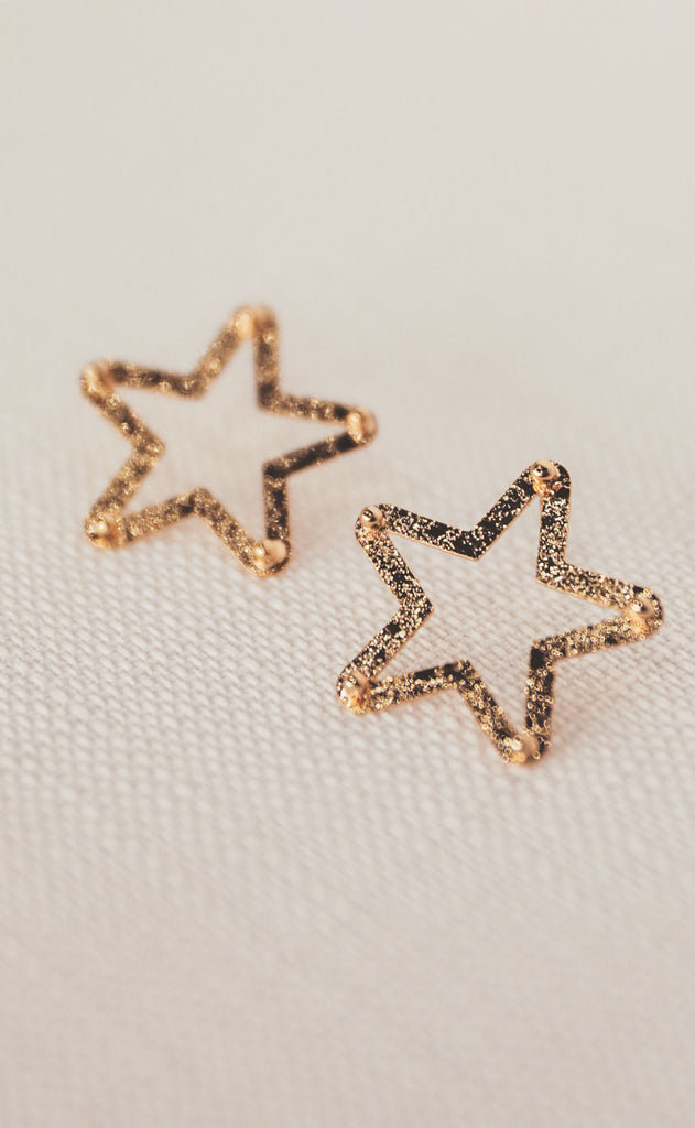 treasure jewels: mini star earring