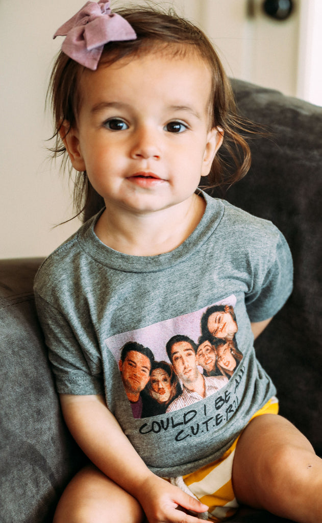 friday + saturday: could i be any cuter - toddler tee