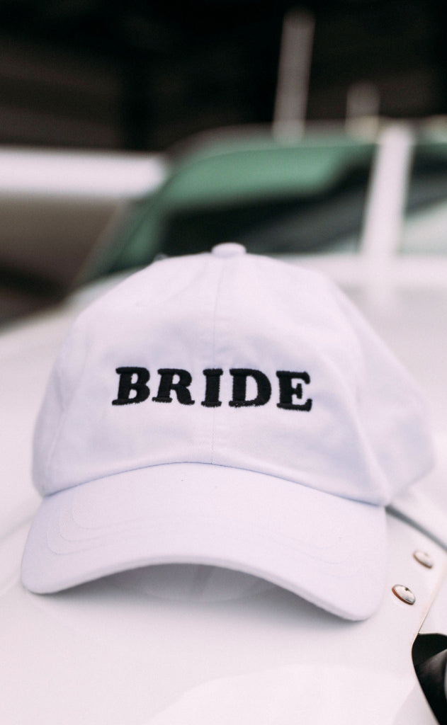 friday + saturday: bride hat