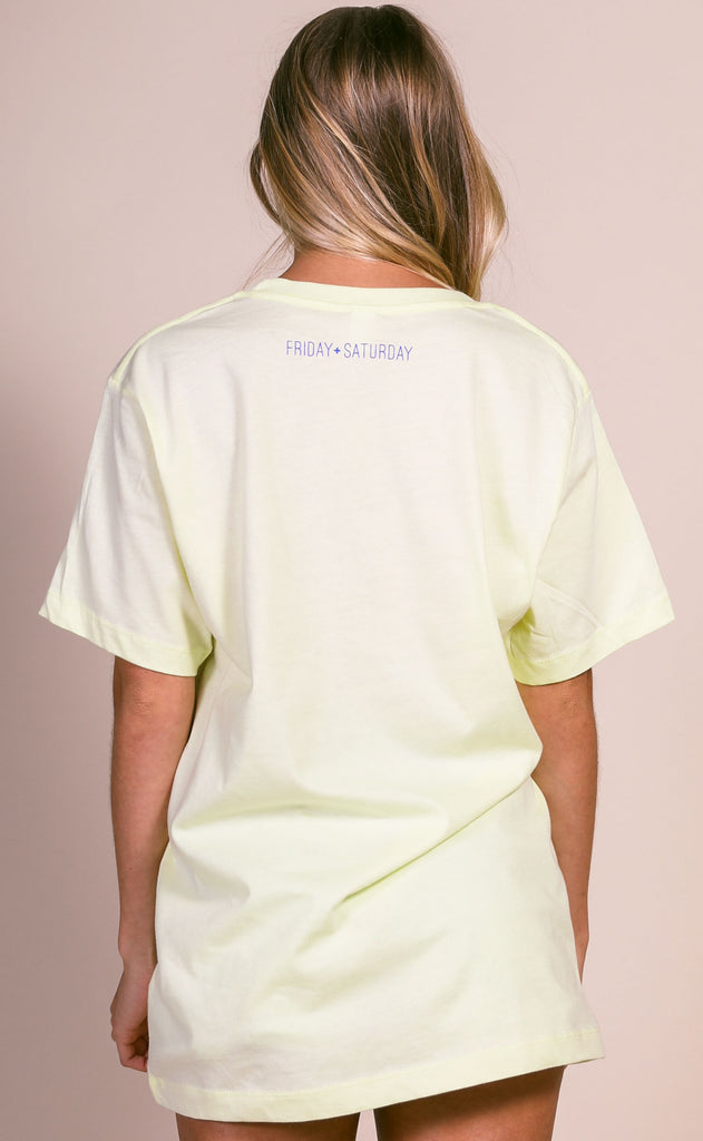 friday + saturday: staycation t shirt