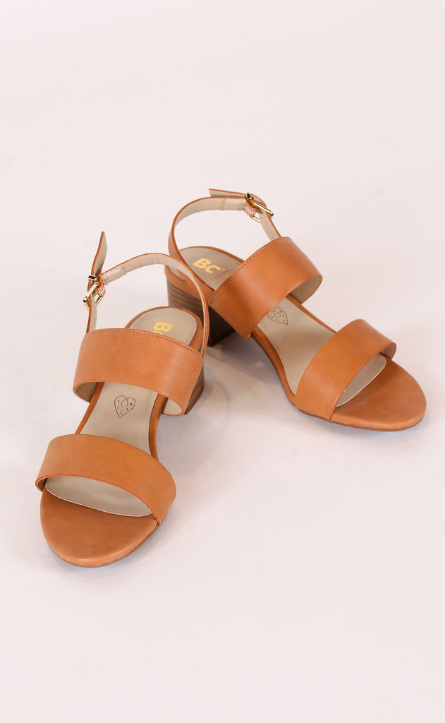 gardenia sandal - brown