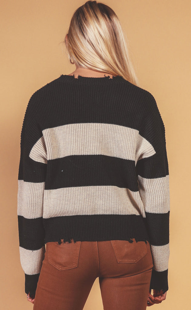 pistola: eva thick stripe sweater