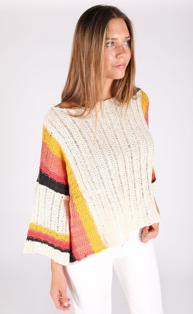watch the sunset knit sweater