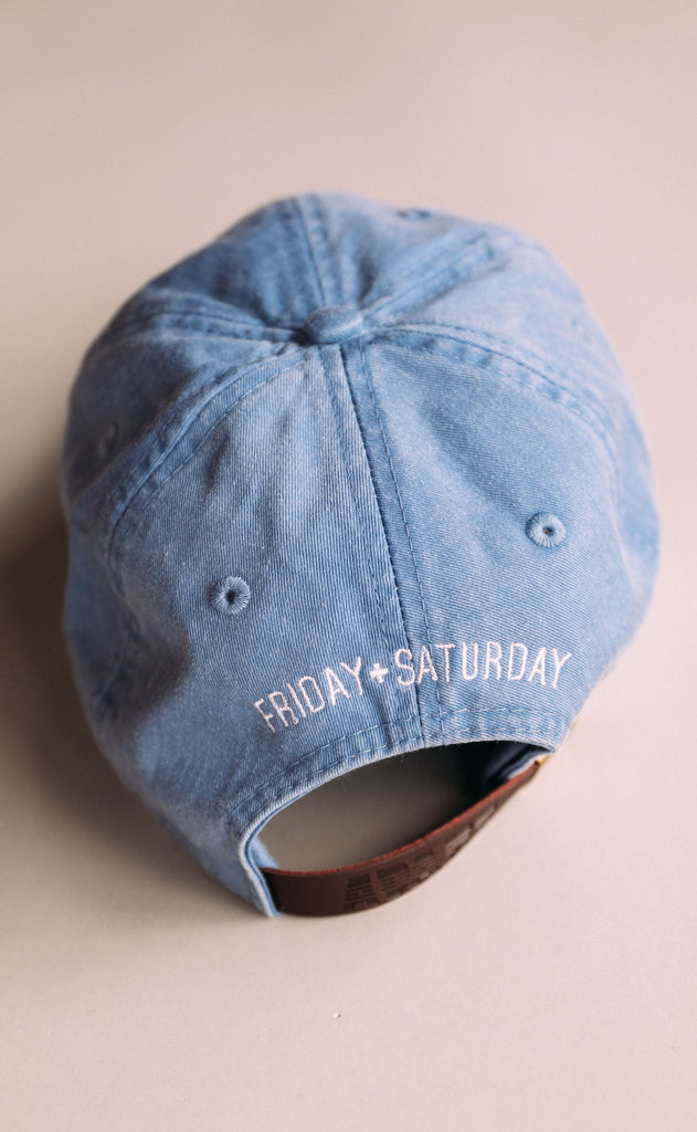 friday + saturday: outdoorsy hat