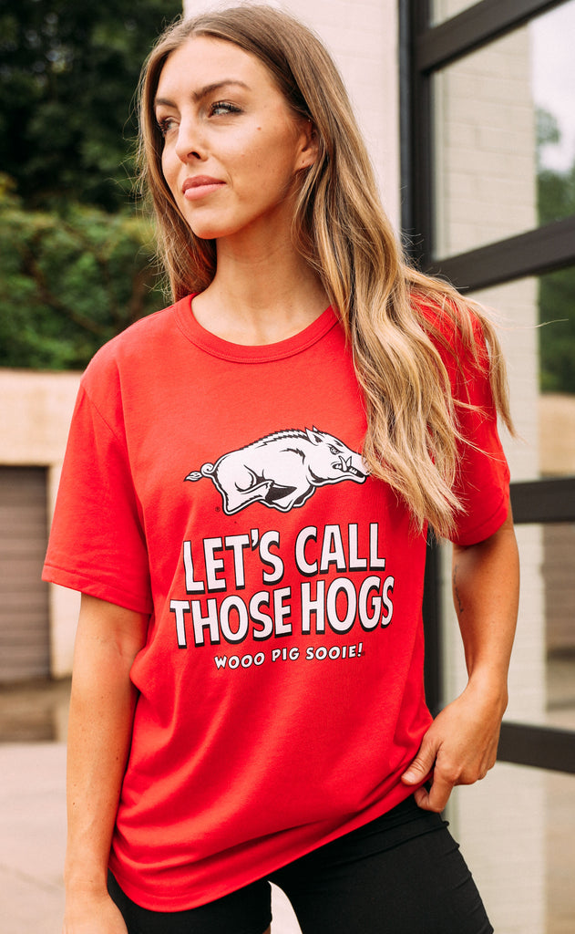 charlie southern: let's call those hogs t shirt