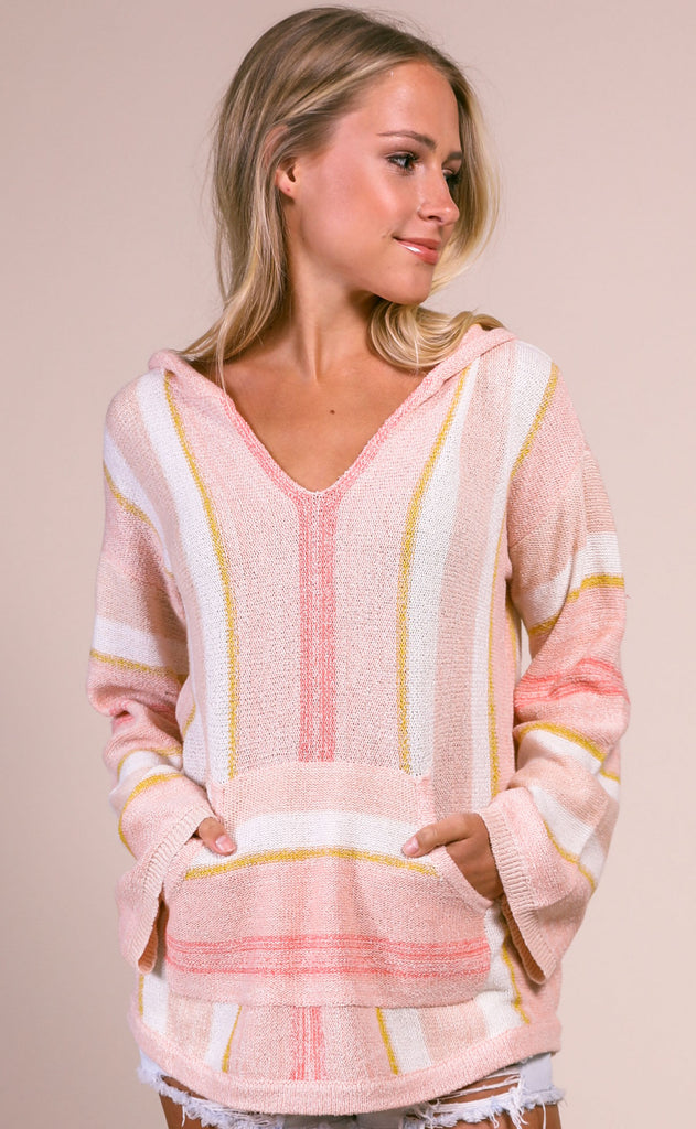 staycation knit pullover
