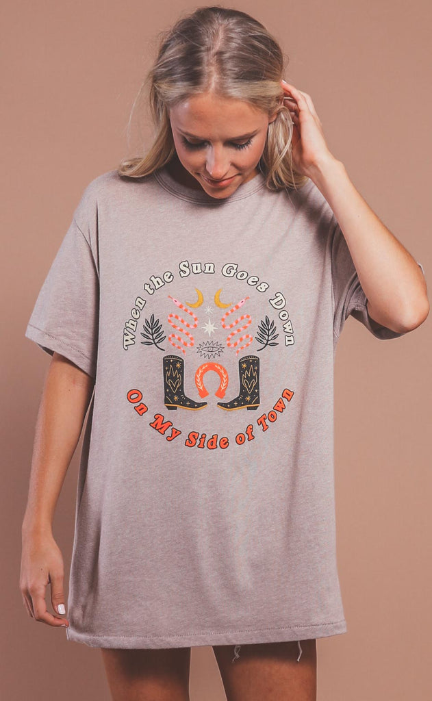 charlie southern: when the sun goes down t shirt