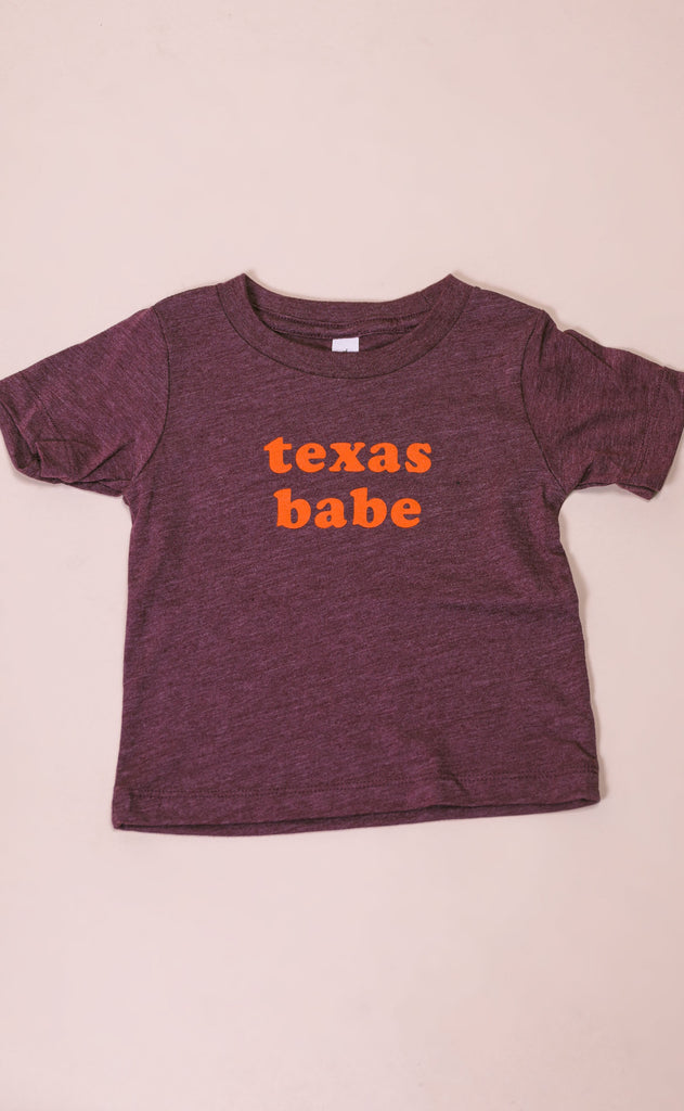charlie southern: texas babe tee - toddler