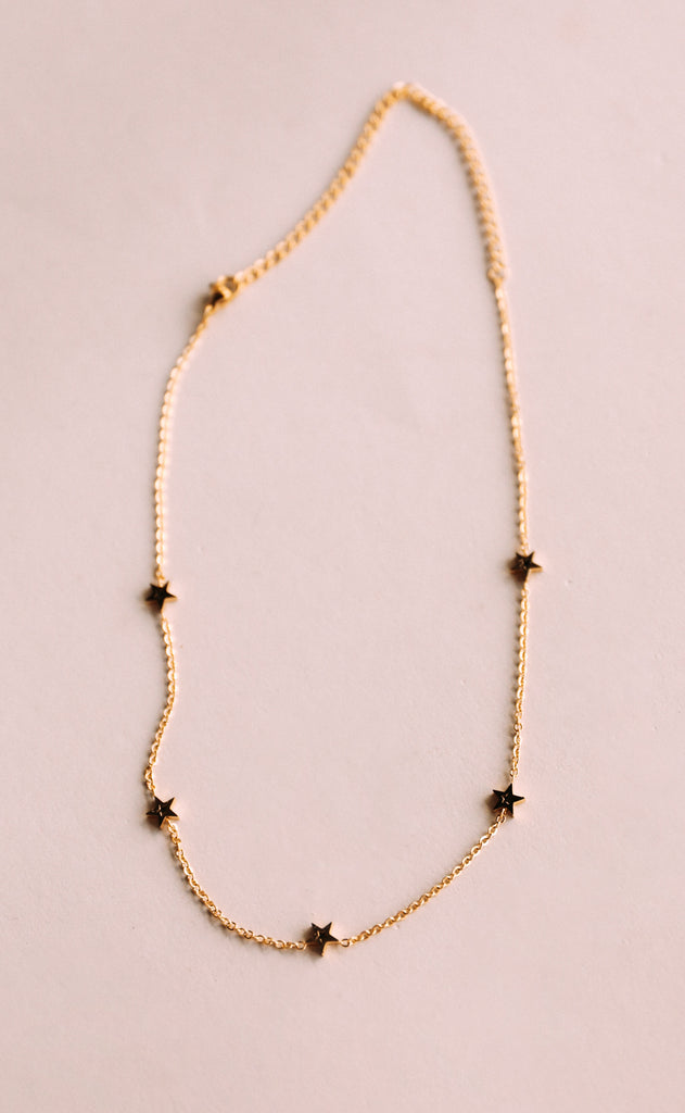 bracha: wanderlust star short necklace