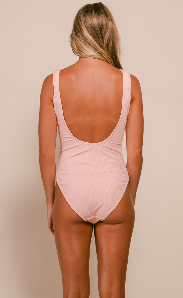 summer forever one piece swimsuit - blush