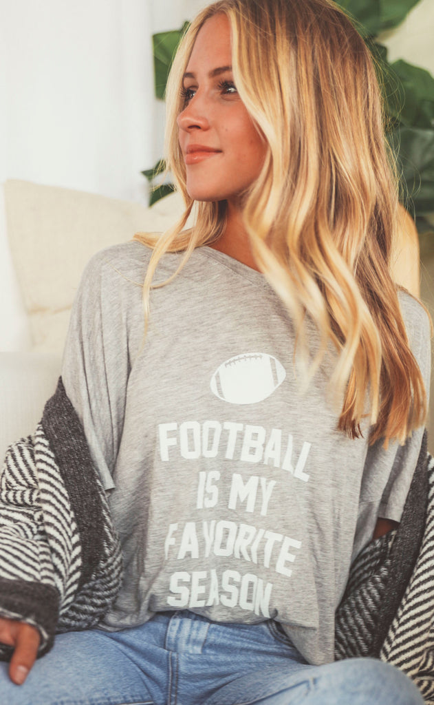 charlie southern: football is my favorite season v-neck t shirt