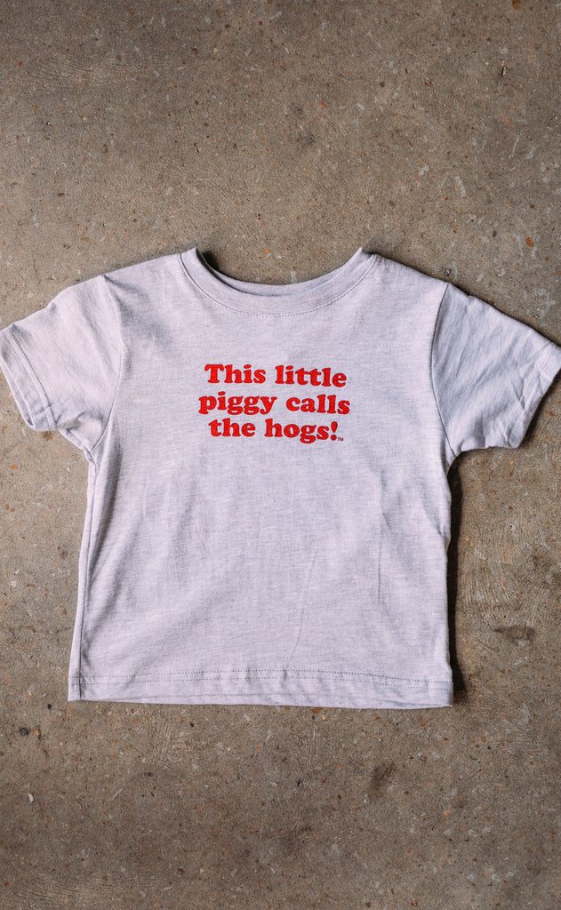 charlie southern: this little piggy toddler t shirt