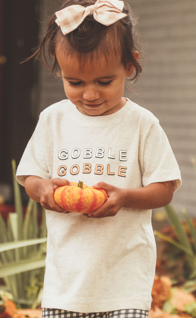 charlie southern: gobble gobble toddler tee