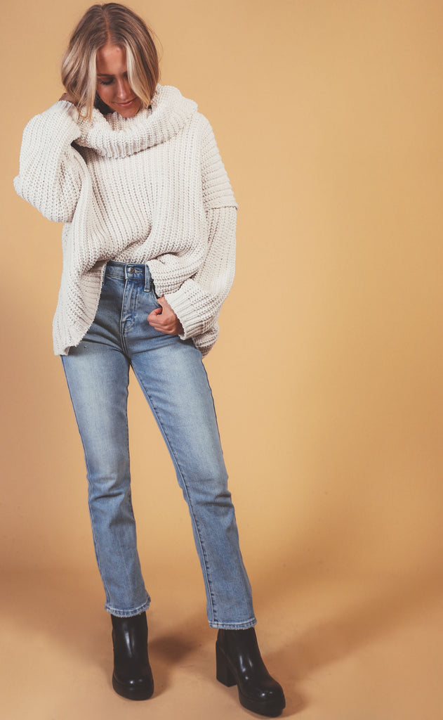 warm this winter turtleneck sweater