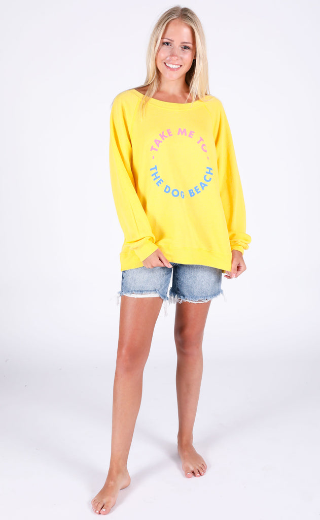wildfox: sommers sweater - dog beach