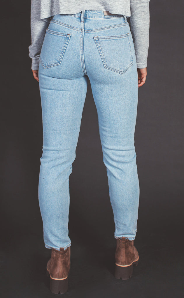 live for these high rise jeans