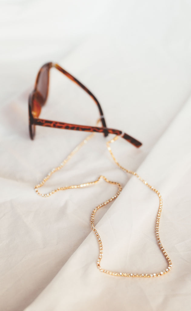 glitz sunglasses chain