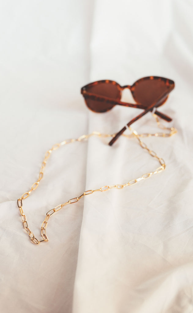 paperclip sunglasses chain