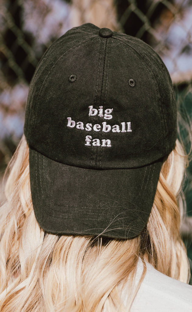 charlie southern: big baseball fan hat