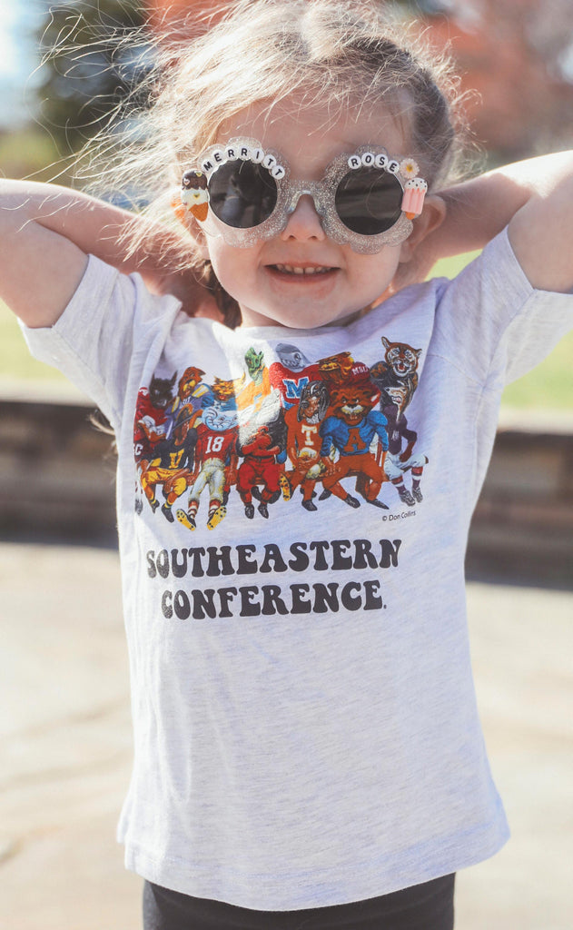 charlie southern: sec family kids tee