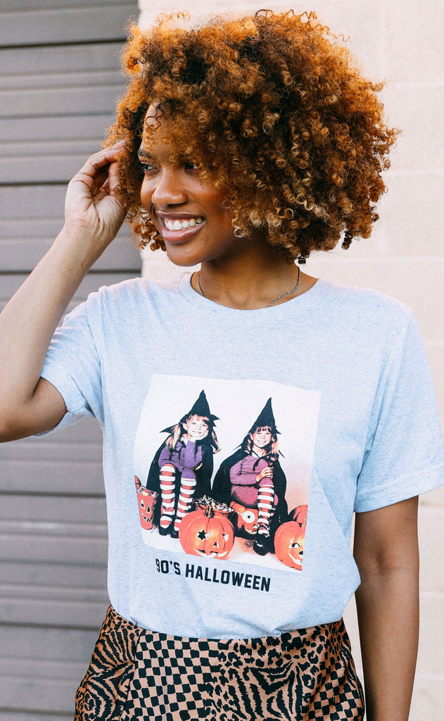 friday + saturday: 90s halloween t shirt