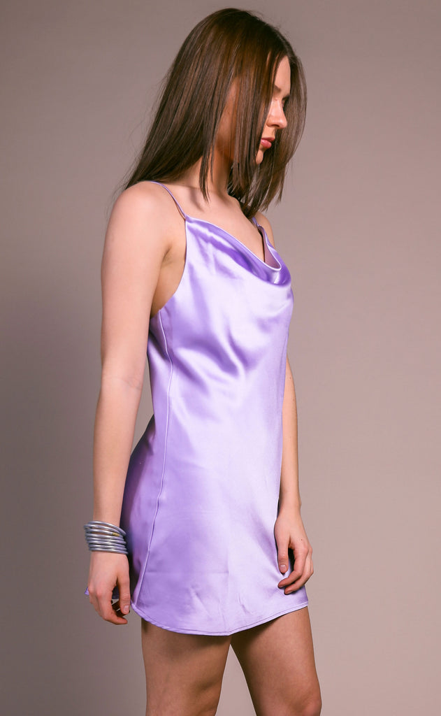 buddy love: celine dress - lavender