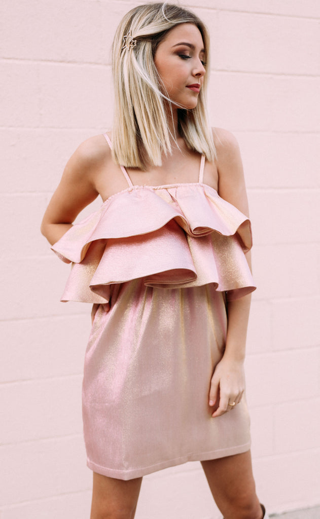 buddy love: kelsey dress - rose