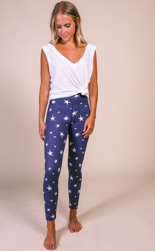 beach riot: piper legging - marine navy