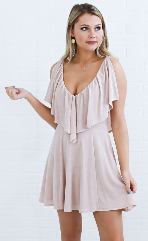 show me your mumu: daphne dress - dancing queen shine blush