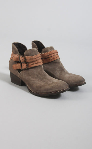rebels calista bootie - cognac