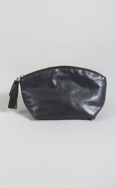 so clutch tassel bag - navy