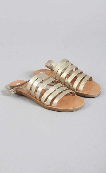 teacup metallic sandal