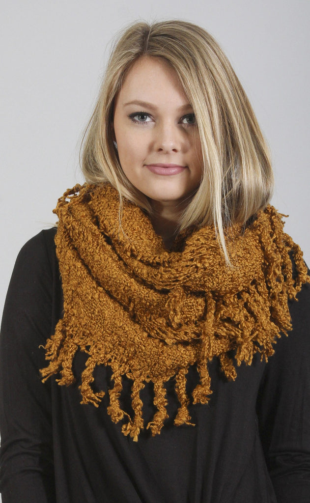 all for fall knit scarf