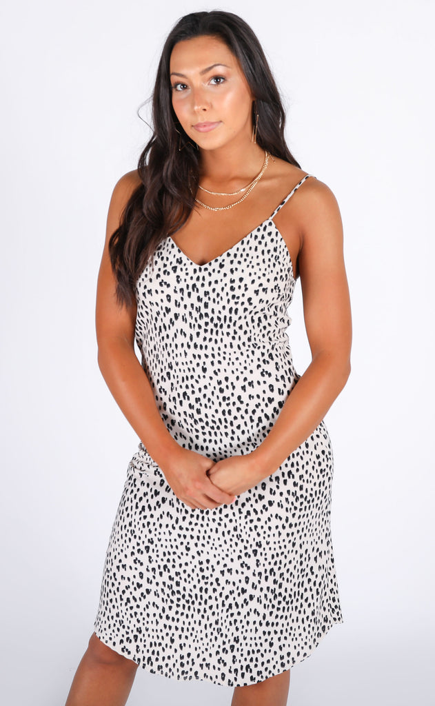 night out midi dress - ivory