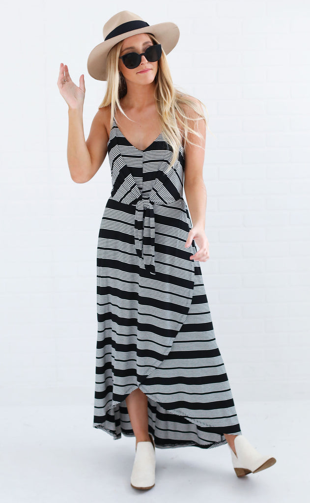 quality time maxi dress