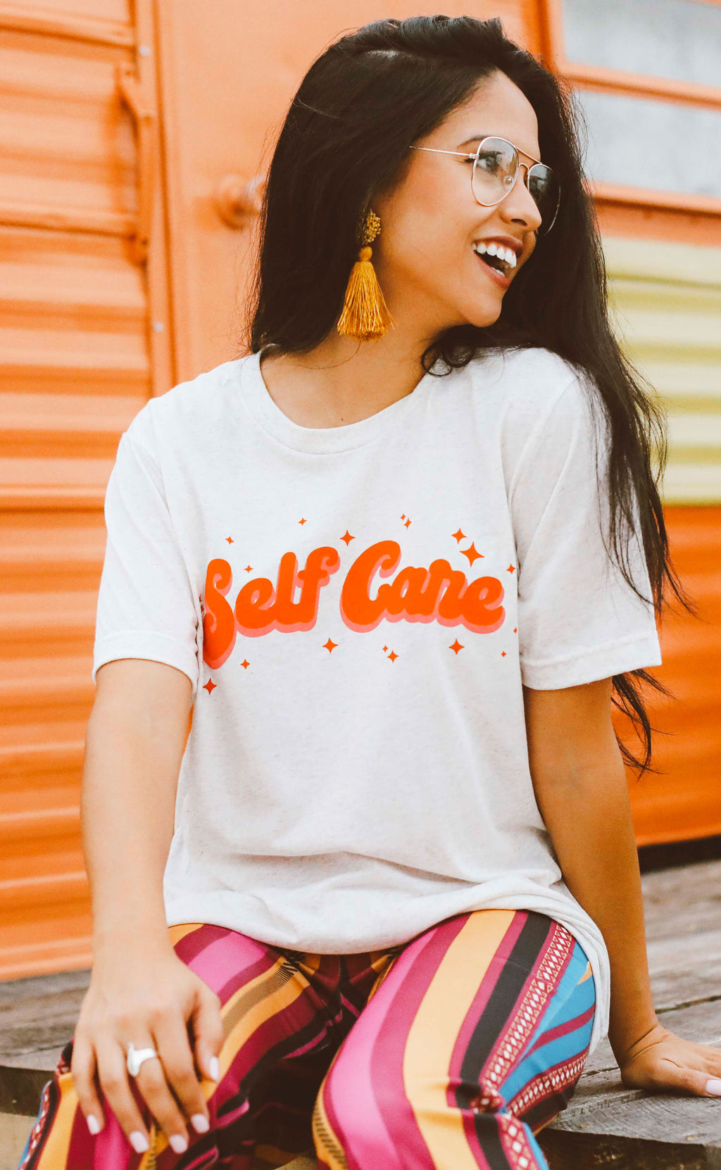 friday + saturday: self care t shirt