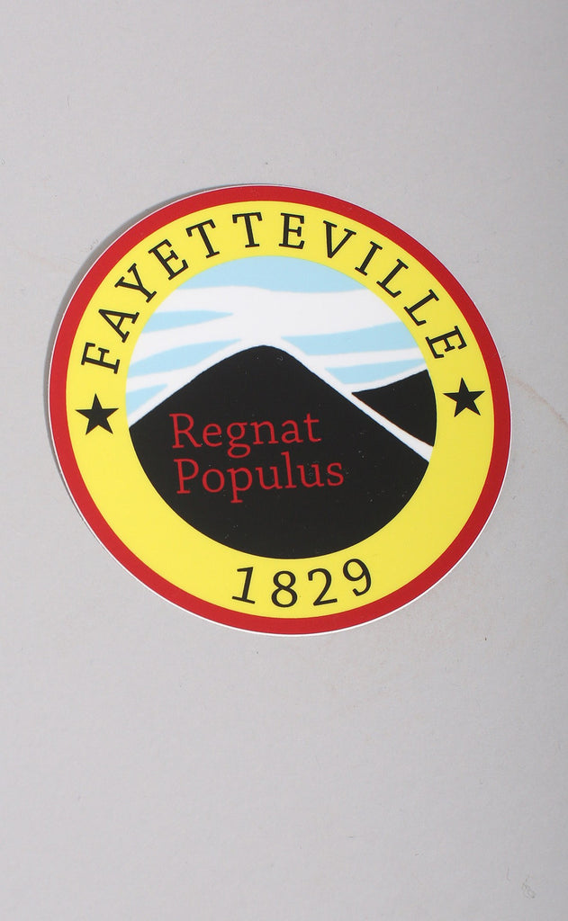 fayetteville flag stickers