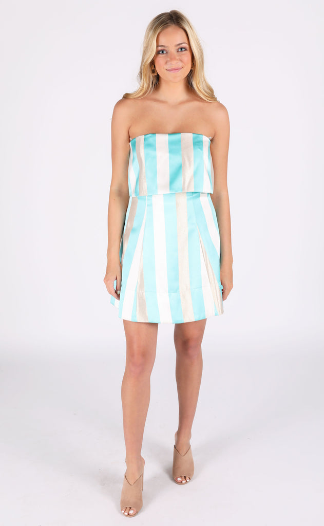 a whole new world striped dress