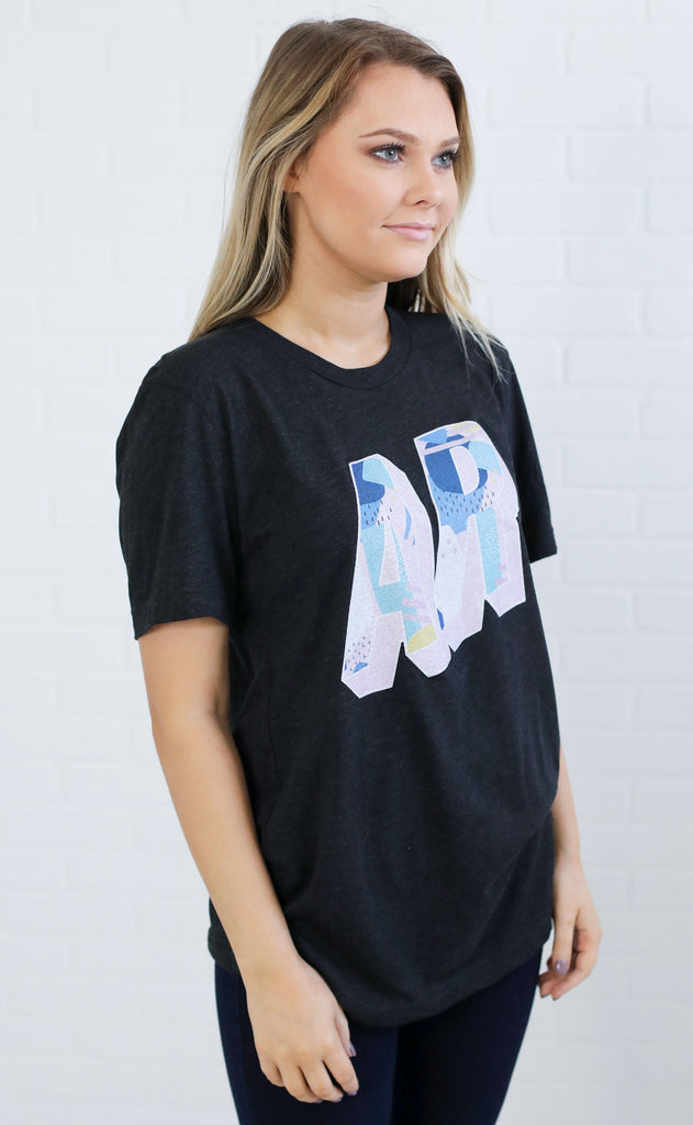 charlie southern: abstract state t shirt - arkansas