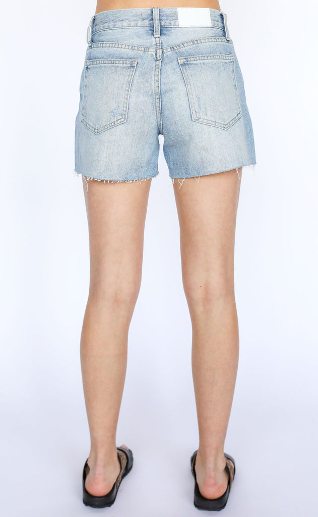 ace high rise cutoff shorts