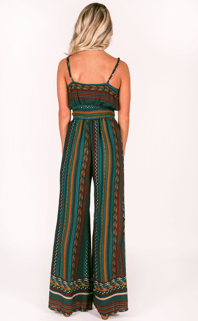 after midnight printed jumpsuit