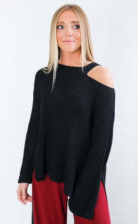 after sundown cutout sweater